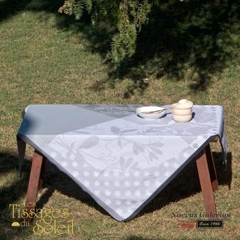Table Cloth Les Tissages du Soleil | Caprifolia Gray