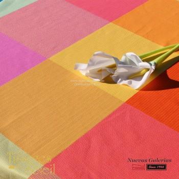 Table Cloth Les Tissages du Soleil | Ludique Yellow