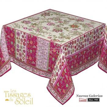 Table Cloth Les Tissages du Soleil | Balzorine Fuchsia