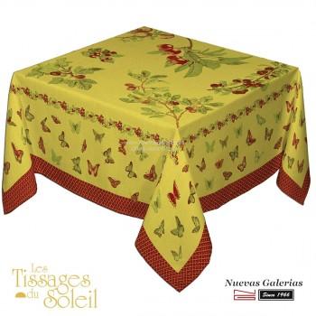 Table Cloth Les Tissages du Soleil | Jardín Yellow