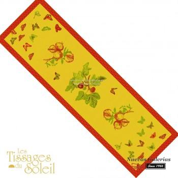 Table Runner Les Tissages du Soleil | Jardín Yellow