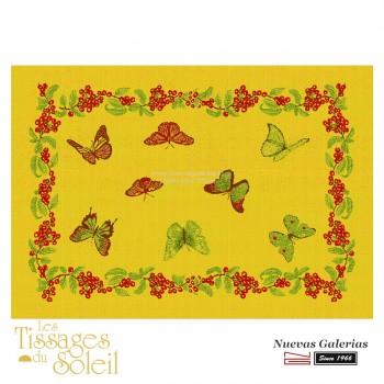 Placemats Les Tissages du Soleil | Jardín Yellow
