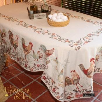 Table Cloth Les Tissages du Soleil | La Ferme Beig
