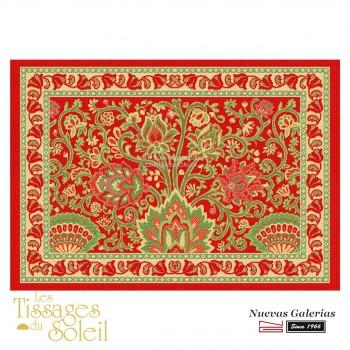 Placemats Les Tissages du Soleil | Sevilla Red