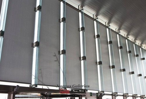 Roller Shade POLYSCREEN® 365 METAL | Bandalux