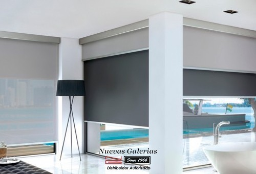 Roller Shade Blackout Face to Face BO | Bandalux