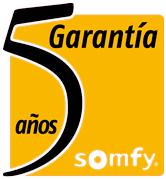5 Años de Garantía Motores Somfy