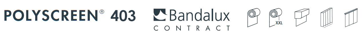 polyscreeen 403 bandalux contract - www.nuevasgalerias.es