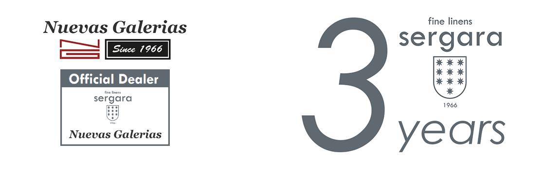 3 anni di garanzia - Distributore ufficiale Sergara