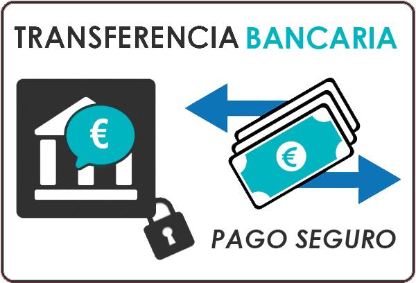 Pago Seguro TRANSFERENCIA | Nuevas Galerias