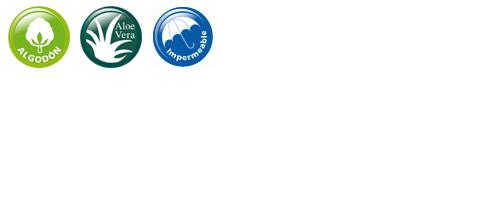 Caracteristicas Protector de Colchón Impermeable Aloe Vera | Velfont